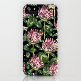 night work in the garden iPhone Case