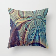 Bluesy Throw Pillow