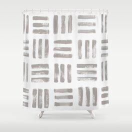 imprint 2 Shower Curtain