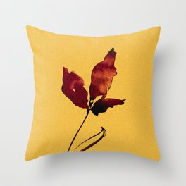 Floral Abstract No.2s by Kathy Morton Stanion Throw Pillow