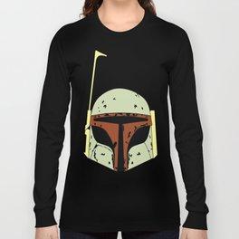 SKYF-01-004 boba_fett_front_face Long Sleeve T-shirt