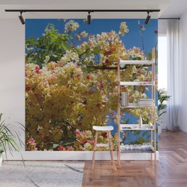 Wilhelmina Tenney Rainbow Shower Tree Wall Mural