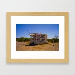 MAGIC SHOP IN NEW MEXICO Framed Art Print