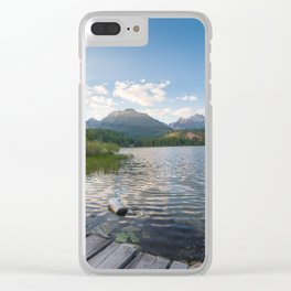 High Tatras Mountains Clear iPhone Case