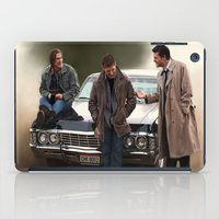 supernatural iPad Cases featuring Supernatural by Artechniq