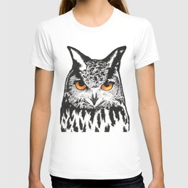 Fire-Eyed Owl T-shirt