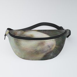 Artistic Animal Bunny 2 Fanny Pack
