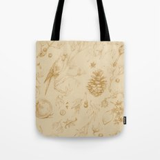 Nature pattern Tote Bag