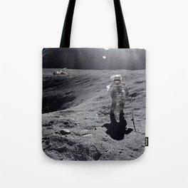 Apollo 16 - Plum Crater Tote Bag