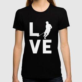FLOOR BALL LOVE - Graphic Shirt T-shirt
