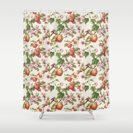 botanical fruits Shower Curtain