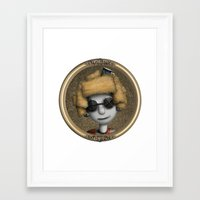 kitchen Framed Art Prints featuring kitchen by Catherine_S