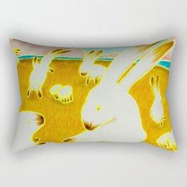 Bongo Bunny Babylon Rectangular Pillow