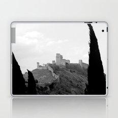 Assisi in the winter Laptop & iPad Skin