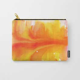 Blurred City Carry-All Pouch
