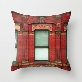 High Line Window Trio Throw Pillow