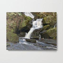 Lumsdale waterfall 3 Metal Print