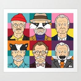 Wes's Murray Mash Art Print