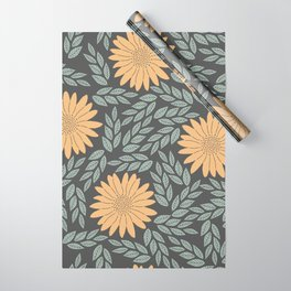 Autumn Flowers Wrapping Paper