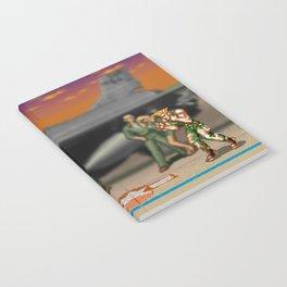 Super Street Fighter Notebook