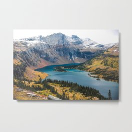 Hidden Lake - Glacier Metal Print