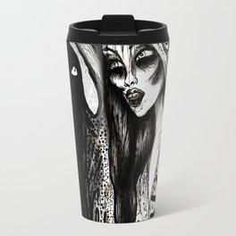 Dialogue With A Demon Travel Mug