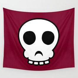Goofy skull Wall Tapestry