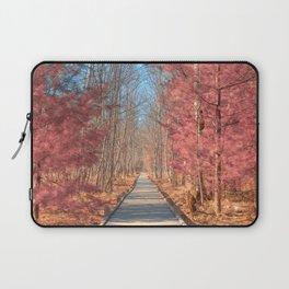 Jesup Boardwalk Trail - Tickle Me Pink Laptop Sleeve