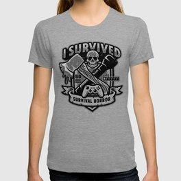 I Survived Survival Horror T-shirt