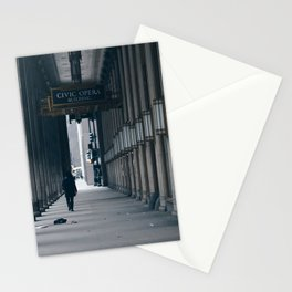 Chicago Civic Opera Stationery Cards