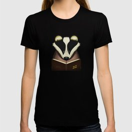 Badger Reading T-shirt