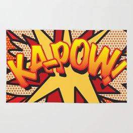 Comic Book KA-POW! Rug