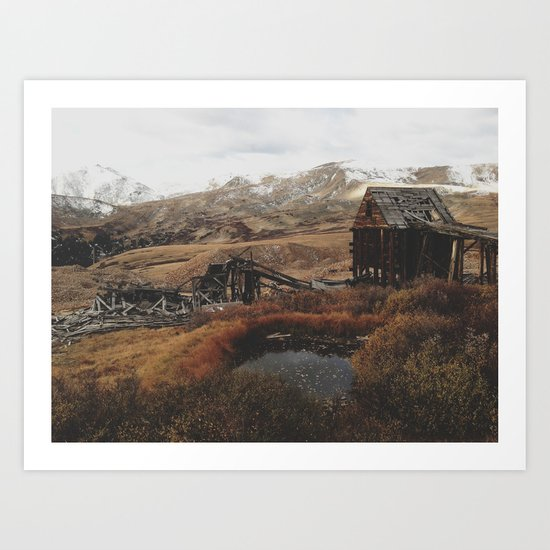 Mountain Mill Art Print