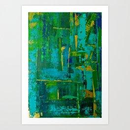 For Pim 1 - Diptych Art Print