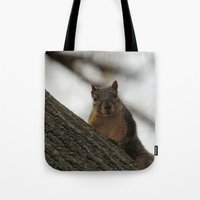 peanuts Tote Bags featuring Did you bring peanuts? by IowaShots