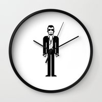 marc johns Wall Clocks featuring Marc Anthony by Band Land