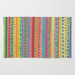Fusion Multi Dots & Stripes Rug