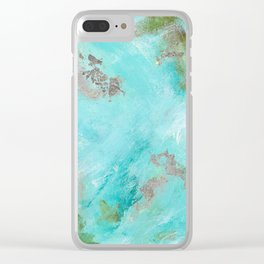 Mayan Dreams Clear iPhone Case