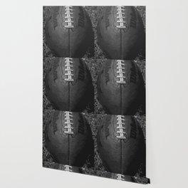 Big American Football - black &white Wallpaper