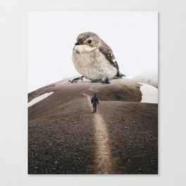 Big Little Bird by GEN Z Canvas Print