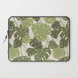 Cliff Hanger Monstera Leaf Hawaiian Print    Laptop Sleeve