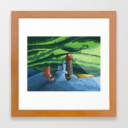 Journey's End Framed Art Print