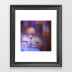 OUT-OF-FOCUS | Room with a view Framed Art Print