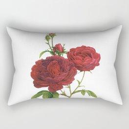 Vintage Red Rose [02] Rectangular Pillow