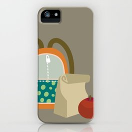 Backpacks & lunch sacks iPhone Case