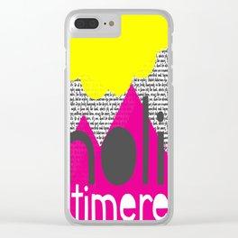 Noli Timere Clear iPhone Case