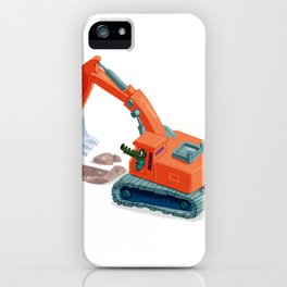 Croco Digger iPhone Case