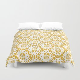 Bee Charmer Duvet Cover