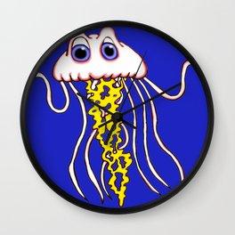 Jammin Jellyfish Wall Clock