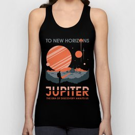 To New Horizons Unisex Tank Top